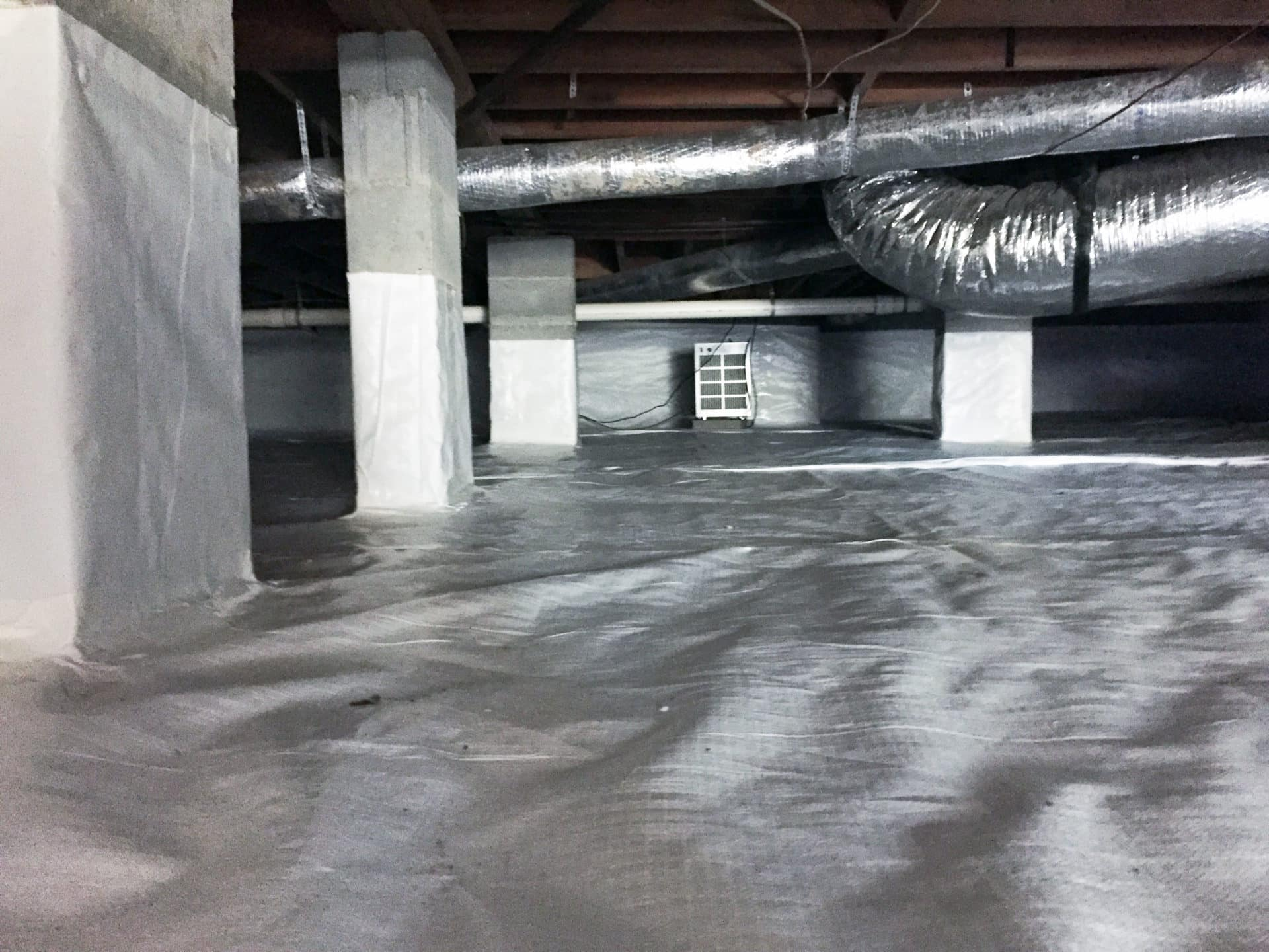 Crawl Space Encapsulation in Nashville & Murfreesboro - Ground Up Foundation Repair