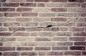 Cracked brick walls, Horizontal Crack