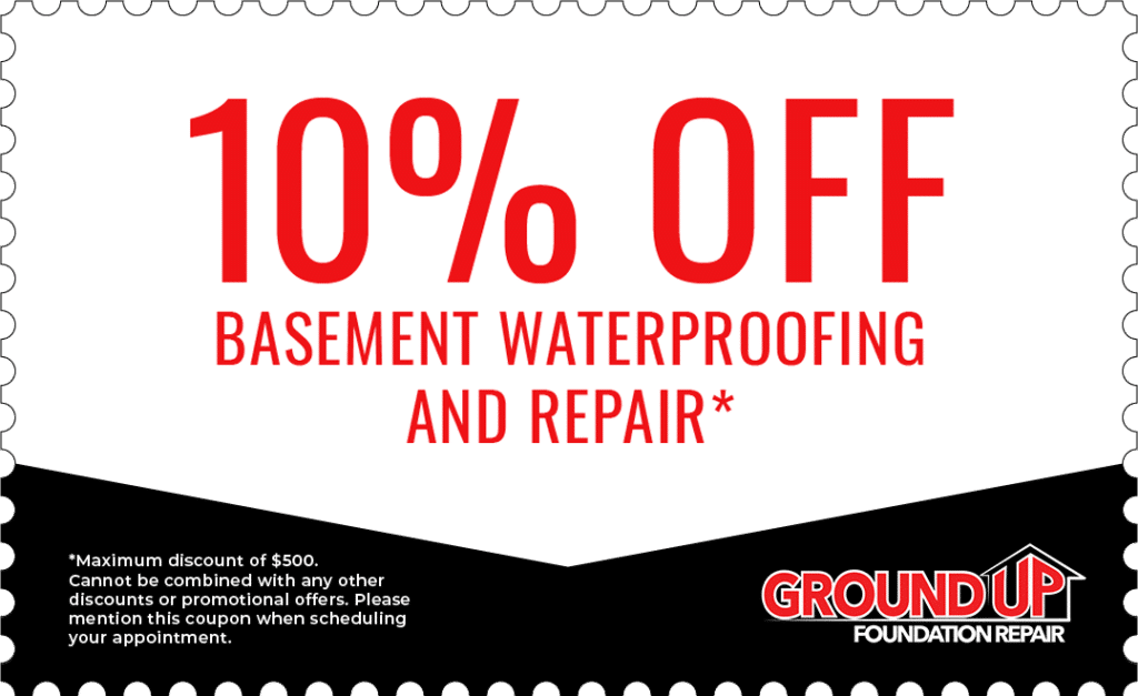 Nashville Basement Waterproofing Promotion - Ground Up Foundation Repair